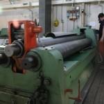 Macchinario per tagliare acciaio inox
