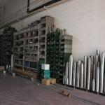 Deposito di acciaio inox